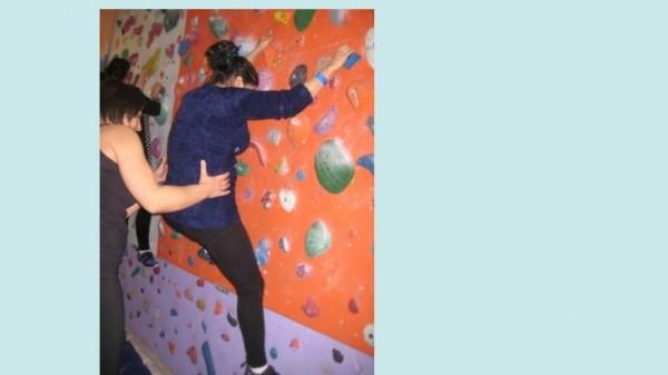 Klettern mit AsylwerberInnen Bild 3